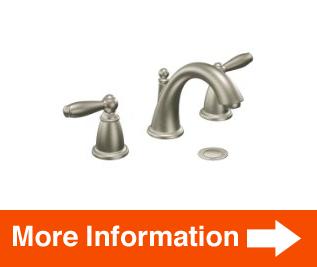 Moen T6620bn Brantford Twohandle Low Arc Bathroom Faucet